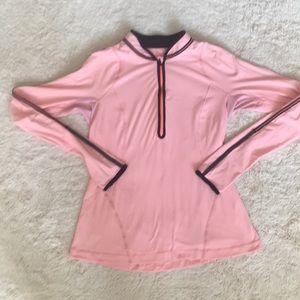 LULULEMON Light Weight Pink Pullover Jacket